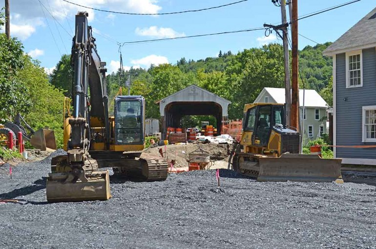 Waitsfield Village Covered Bridge and Bridge Street Stormwater Rehabilitation