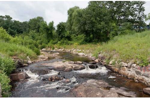 Black brook naturalized streambank stabilization dubois for Design of stabilization pond