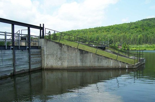 Marshfield Hydroelectric Dam