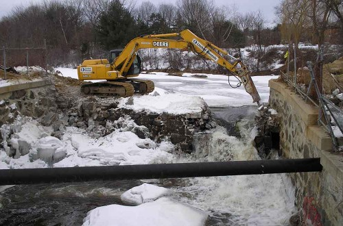 Maxwell Pond Dam Removal