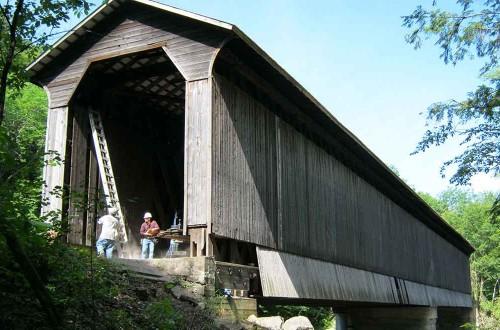 Pier Covered Bridge