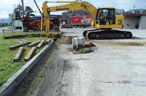 Bradford Sewer Line