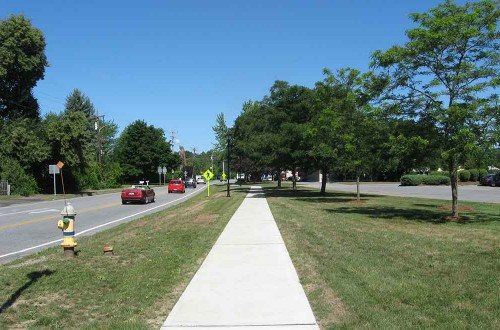 Warners Corner Sidewalk