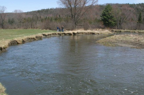 Streambank Protection, Water Supply Pond