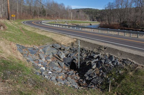 VT Highway Slope Stabilization