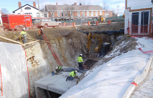 Brandon Overflow Culvert Construction