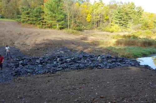 Pomainville Dam Removal