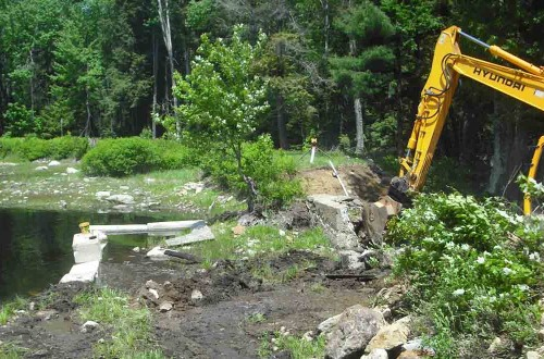 Stump Pond Dam Removal